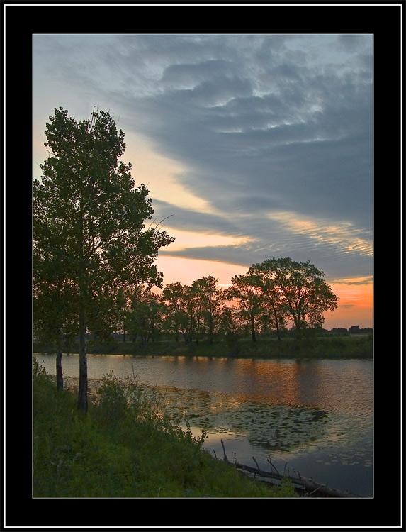 "photo ""June Morning # 2"" tags: landscape, summer, sunset"