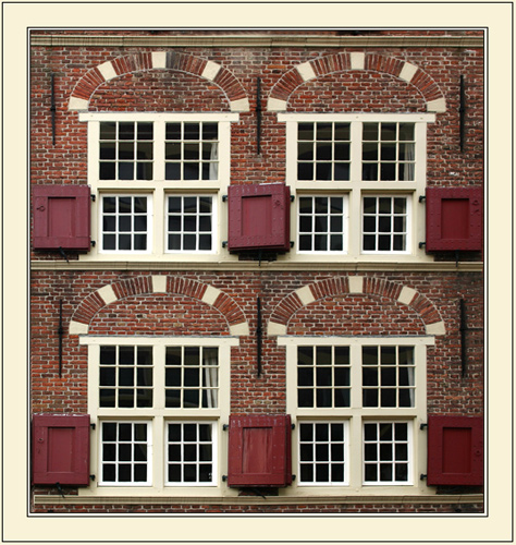 "photo ""Delft windows"" tags: architecture, genre, landscape,"