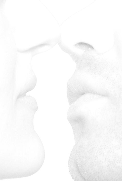 "photo ""two. passion"" tags: black&white, portrait,"