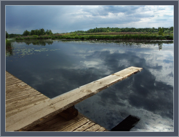 """фото """"Взлететь бы в небо"""" метки: пейзаж, вода, облака"""