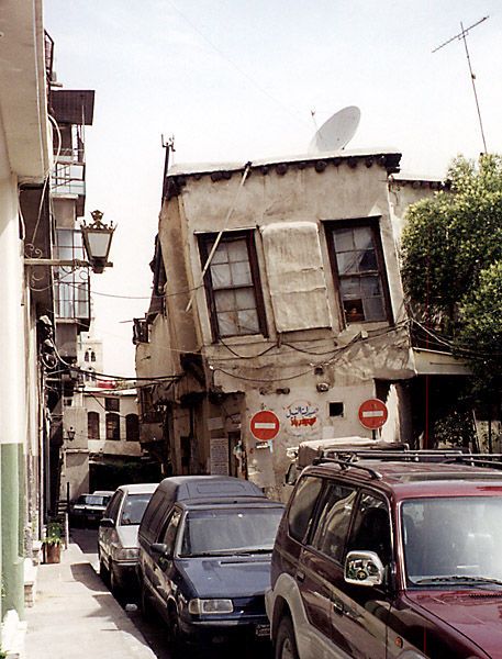 "photo ""Old Damascus (1)"" tags: travel, architecture, landscape, Asia"