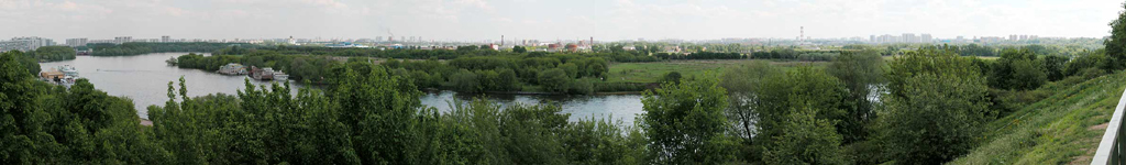"photo ""Moscow Panorama. South Suburb."" tags: architecture, travel, landscape, Europe"