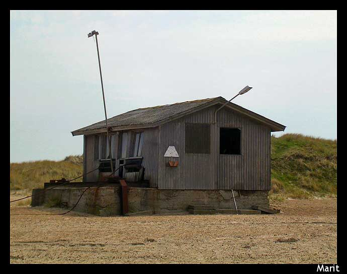 "photo ""Wery old sea house from Denmark"" tags: travel, landscape, Europe, summer"