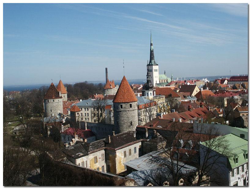 "photo ""Tallinn"" tags: montage, architecture, landscape,"