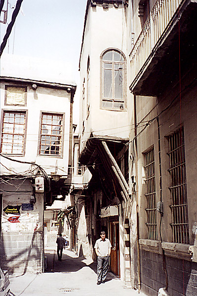 "photo ""Old Damascus (2)"" tags: travel, architecture, landscape, Asia"
