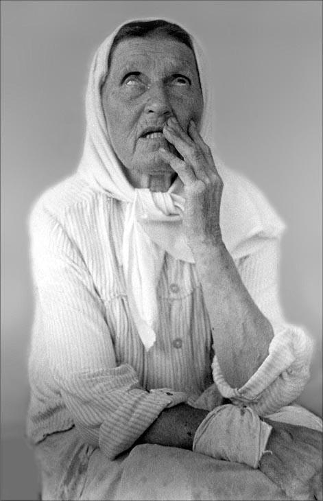 """фото """"Незрячая Анна"""" метки: черно-белые,"""