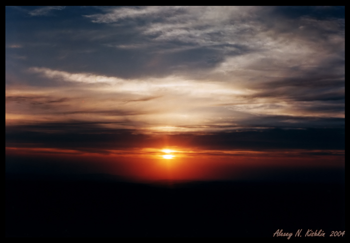 "photo ""While Noname"" tags: landscape, clouds, sunset"