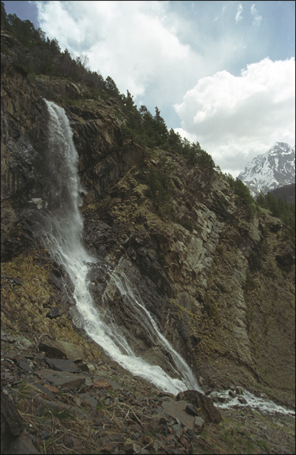 "photo ""Waterfall"" tags: landscape, mountains, water"