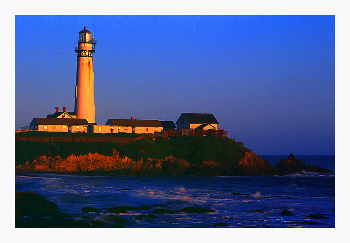 "photo ""Pidgeon Point Lighthouse"" tags: travel, North America"