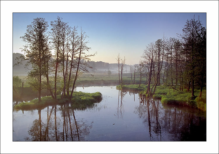 "photo ""Morning etude"" tags: landscape, sunset, water"