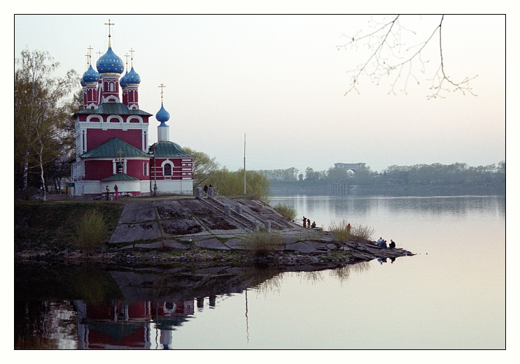 "photo ""Uglich"" tags: travel, landscape, Europe, water"