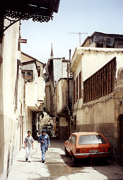 "photo ""Old Damascus (3)"" tags: travel, architecture, landscape, Asia"
