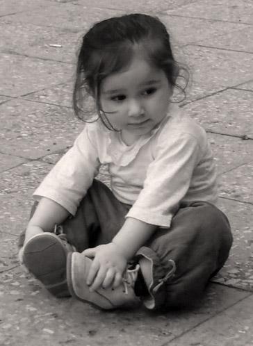 "photo ""thinking"" tags: portrait, children"