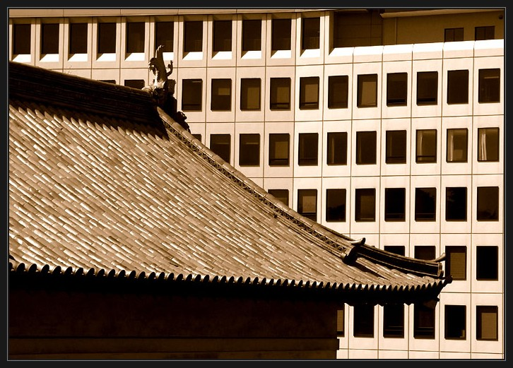 "photo ""two ages"" tags: architecture, travel, landscape, Asia"