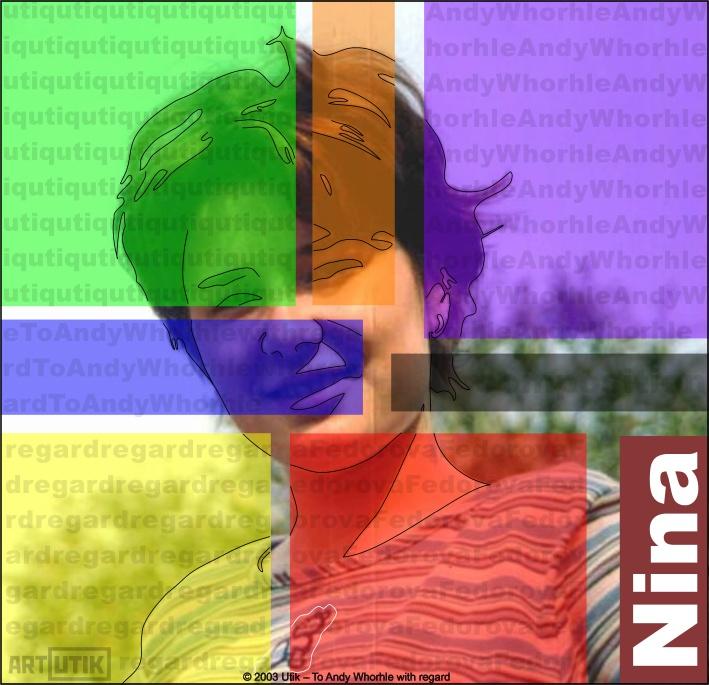 "photo ""Nina Composicion"" tags: portrait, abstract, woman"