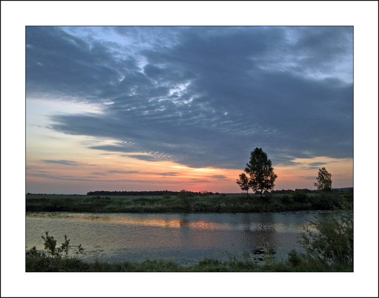 "photo ""June Morning # 3"" tags: landscape, summer, sunset"