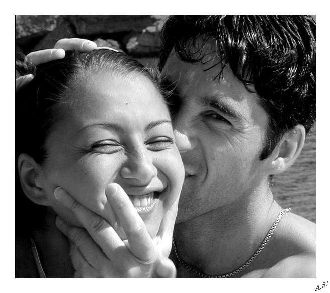 """фото """"Все равно поцелую"""" метки: черно-белые, жанр,"""