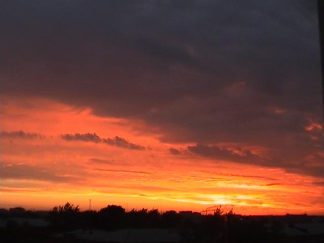 """photo """"Fire sky"""" tags: landscape, sunset"""