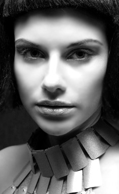 "photo ""Portrait Cleopatra (series Cleo)"" tags: black&white, portrait, woman"