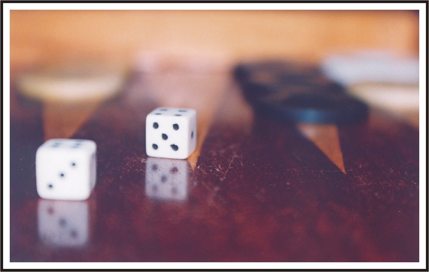 "photo ""The Game"" tags: misc., still life,"