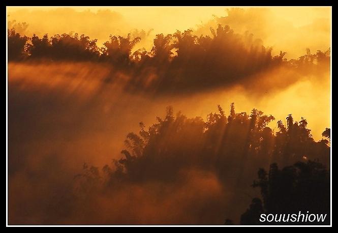 "photo ""Light"" tags: landscape, sunset"