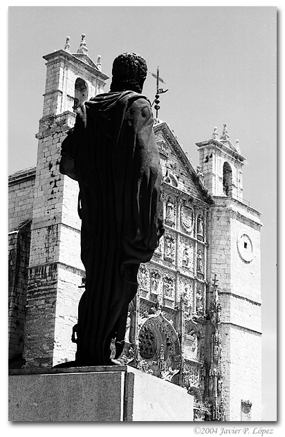 "photo ""Valladolid_07"" tags: architecture, black&white, landscape,"