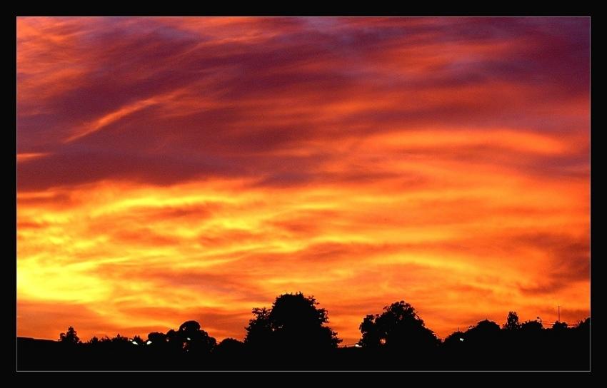 """фото """"14/6/2004   21.30"""" метки: пейзаж, закат, облака"""