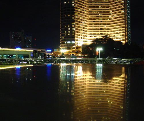 """фото """"Reflex symmetry"""" метки: пейзаж, ночь"""