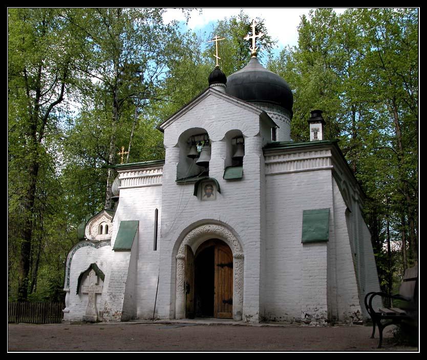 "photo ""Church to Abramtzevo"" tags: landscape, summer"