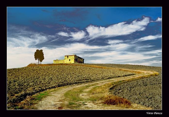 "фото ""Verso Pienza"" метки: пейзаж, лето"