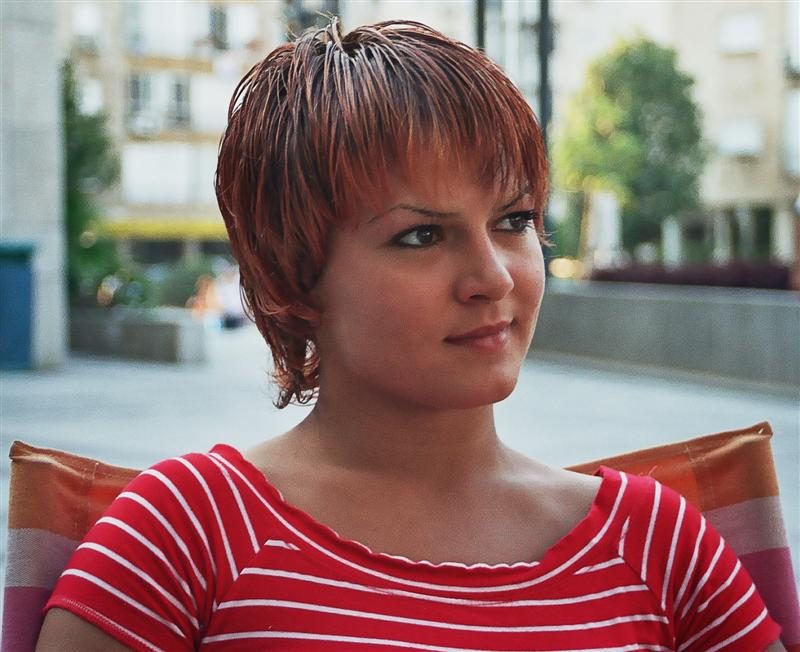 """photo """"Casual photo"""" tags: portrait, genre, woman"""