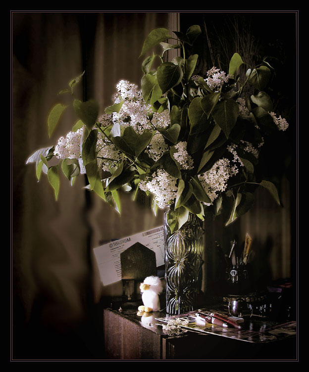 "photo ""Bouquet of a lilac"" tags: still life,"