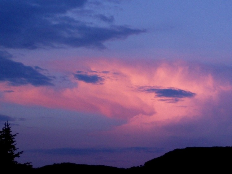 "photo ""Clouds in the evening"" tags: landscape, nature, clouds"