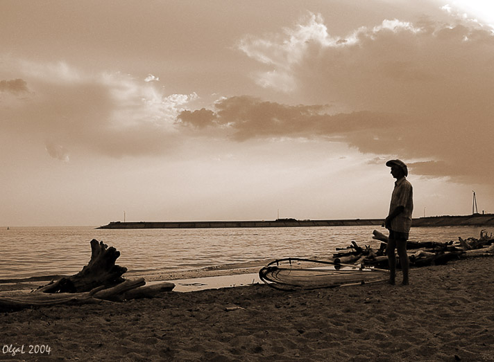 "photo ""Waiting for the wind"" tags: genre, montage,"