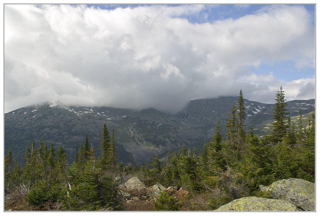 """фото """"***"""" метки: пейзаж, горы, облака"""