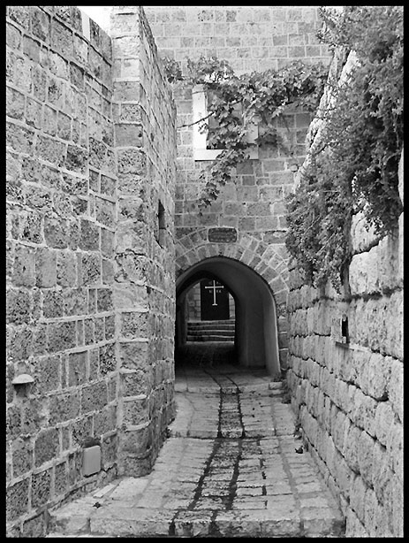 "photo ""Yaffo"" tags: black&white,"