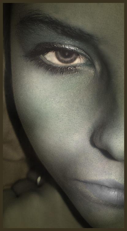 """photo """"Polovinka"""" tags: portrait, woman"""