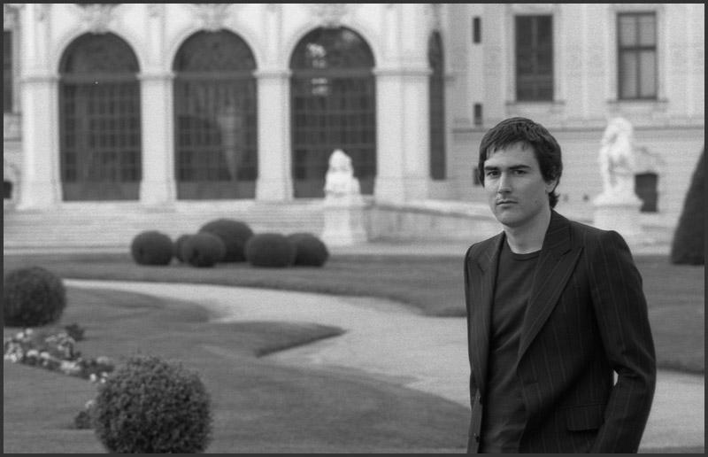 """photo """"Prince Clemens von Belvedere"""" tags: portrait, black&white, man"""