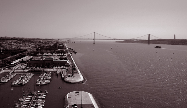 "фото """" The Bridge at the Tagus river """" метки: разное,"