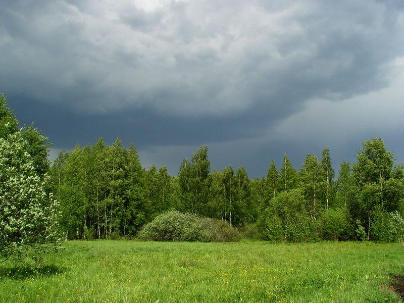 "photo ""... Clouds мглою cover the sky..."" tags: nature,"