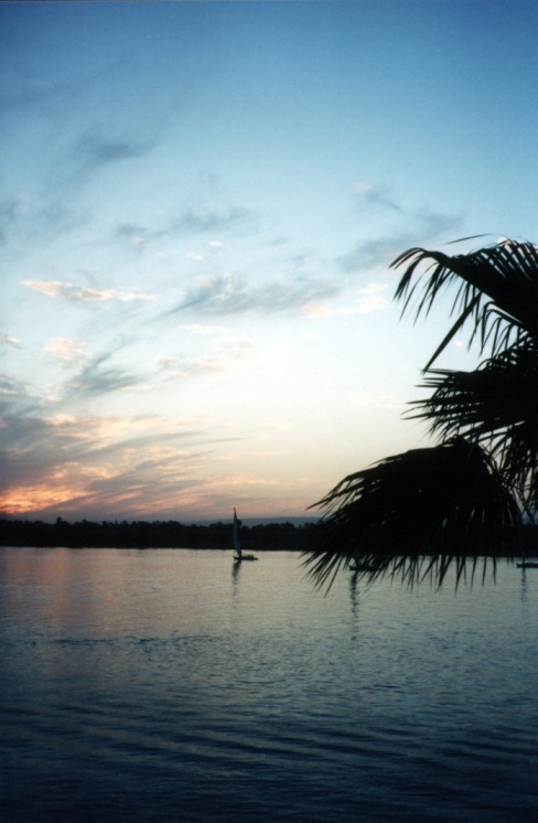 "photo ""Nile at Sunset"" tags: travel, landscape, Africa, sunset"