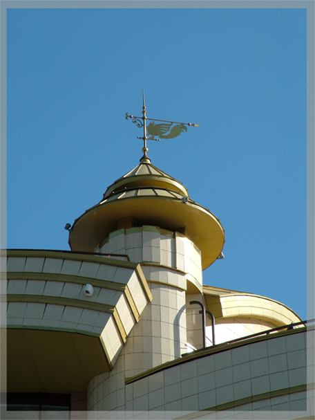 "photo ""Windvane"" tags: architecture, landscape,"