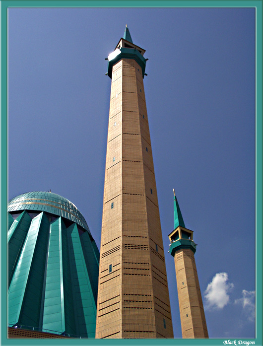 "photo ""Minaret #1"" tags: architecture, landscape,"