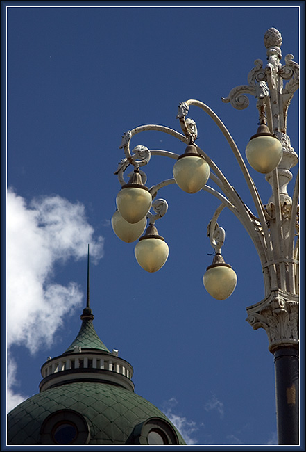 "photo ""About lanterns and spikes"" tags: architecture, landscape,"