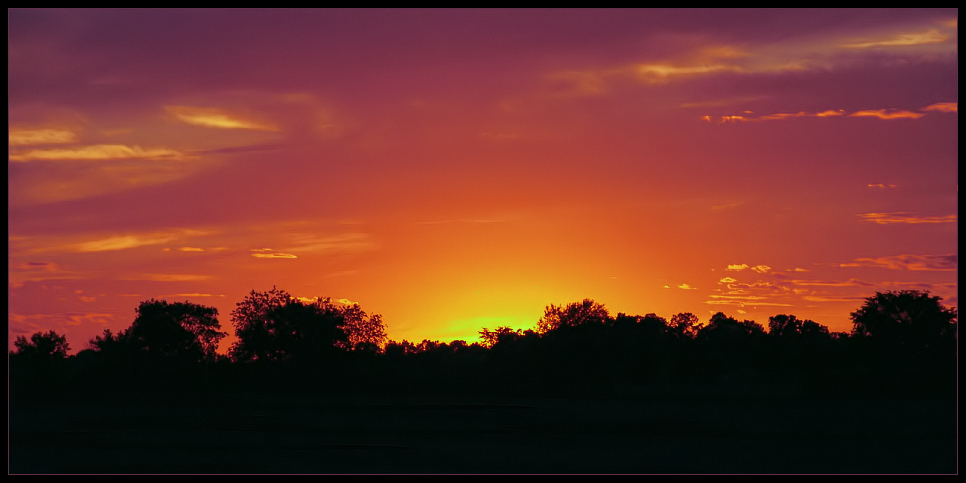 "photo ""Western Glow"" tags: landscape, summer, sunset"