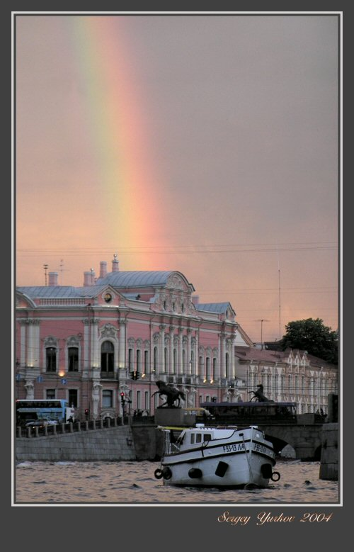 "photo ""The white nights of Petersburg"" tags: architecture, landscape,"