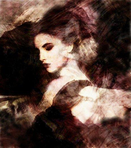"""фото """"MATHILDA"""" метки: портрет, фотомонтаж, женщина"""