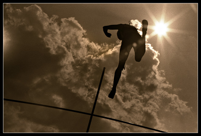 "photo ""Over the clouds"" tags: abstract, sport,"