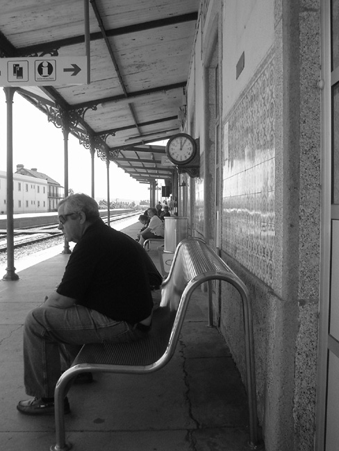 "photo ""waiting man"" tags: misc.,"