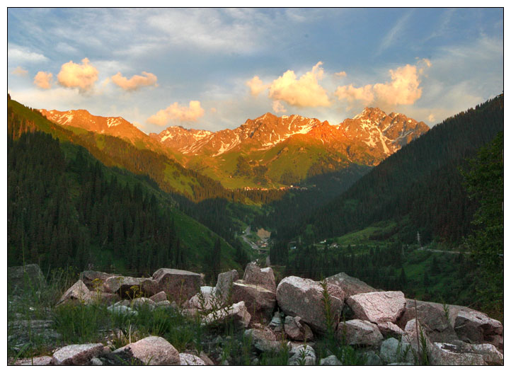 "photo ""Shymbulak"" tags: landscape, mountains"